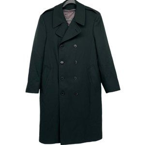Logistick Vintage heavy duty wool layered trench